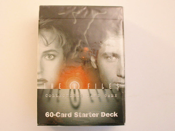 X-Files CCG Premier Edition Starter Deck Sealed AB US Playing Cards