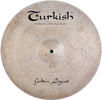 "Turkish Golden Legend 17"" Crash 1248g"
