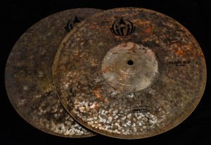 "Diril Primitive 14"" Hi Hats t-774g b-884"