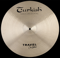 "Turkish Travel Chris Wabich 17"" Crash 1252g"