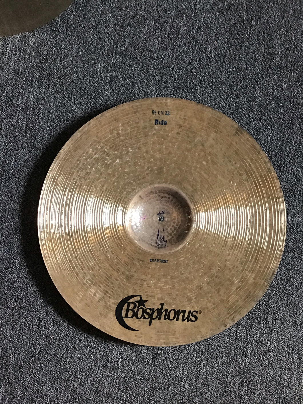 "Bosphorus PROTOTYPE Oracle Series 14"" Hihats t-976g b-1236g"