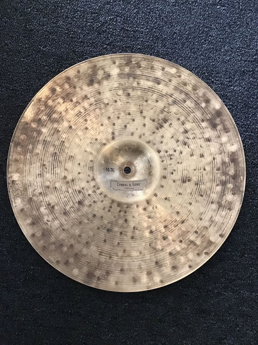Cymbal & Gong Oaktown patina/dry 16