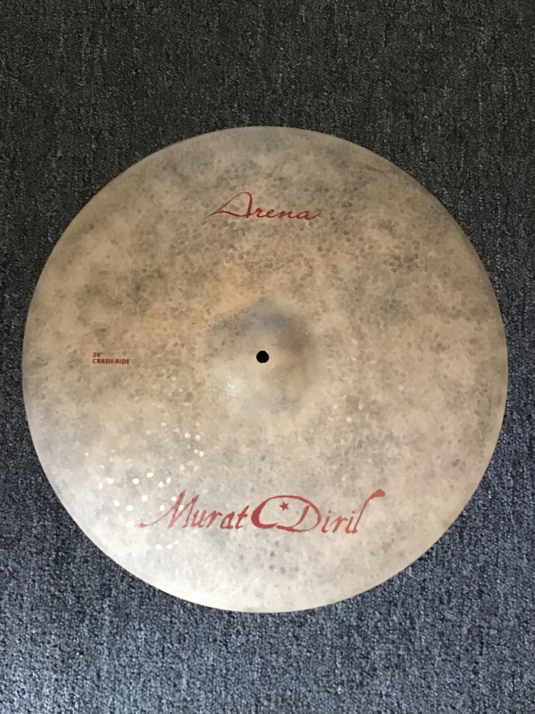 "Murat Diril Arena Crash Ride 20"" 1788g"