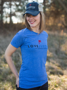 Love Justice Distressed Hat