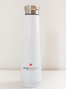 Love Justice 16 oz Stainless Steel Water Bottle