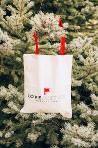 Love Justice Tote Bag