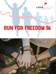 Virtual 5k Run for Freedom Race Pack