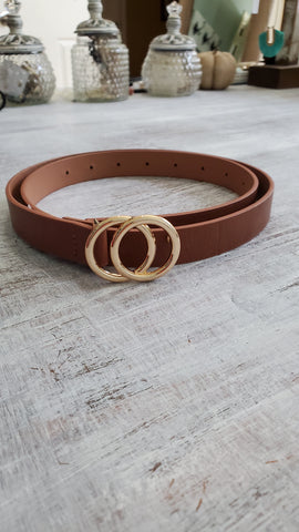 Brown Circle Belt
