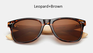 free sunglasses vintage bamboo brown sunglasses