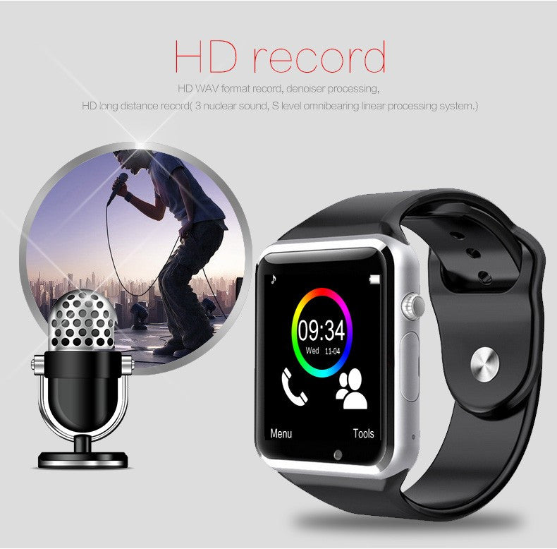 luxury smartwatch cheap iphone and android hd record
