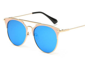 free sunglasses the stylist blue sunglasses