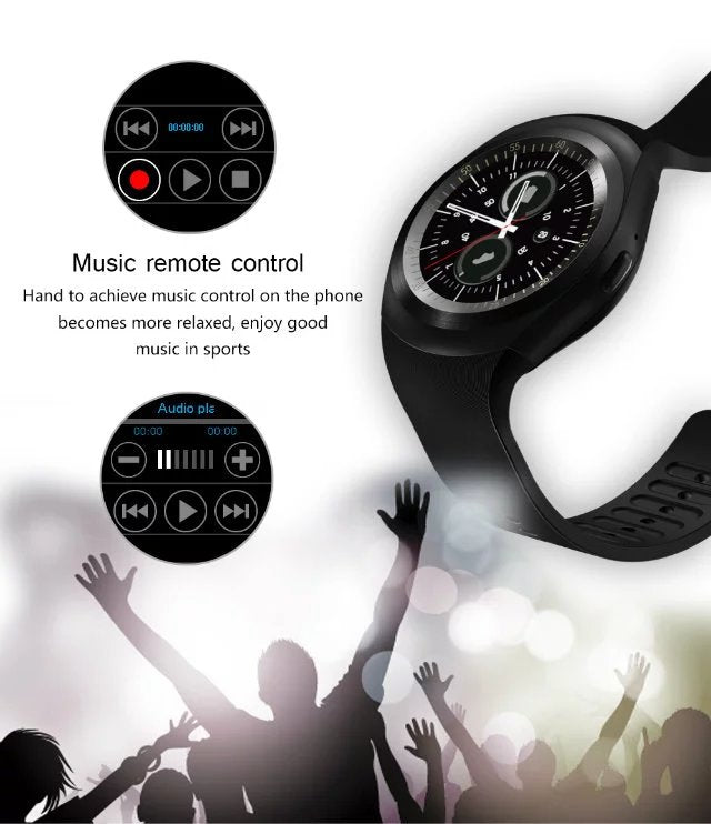 2019 luxury cheap smartwatch for samsung music remote control