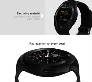 2019 luxury cheap smartwatch for samsung zinc alloy