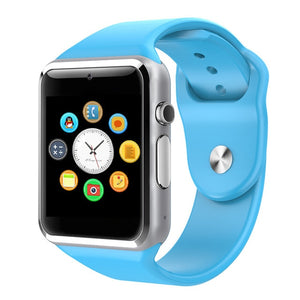 luxury smartwatch cheap iphone and android light blue