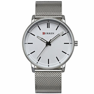 Mario Varccio luxury cheap premium watch silver white