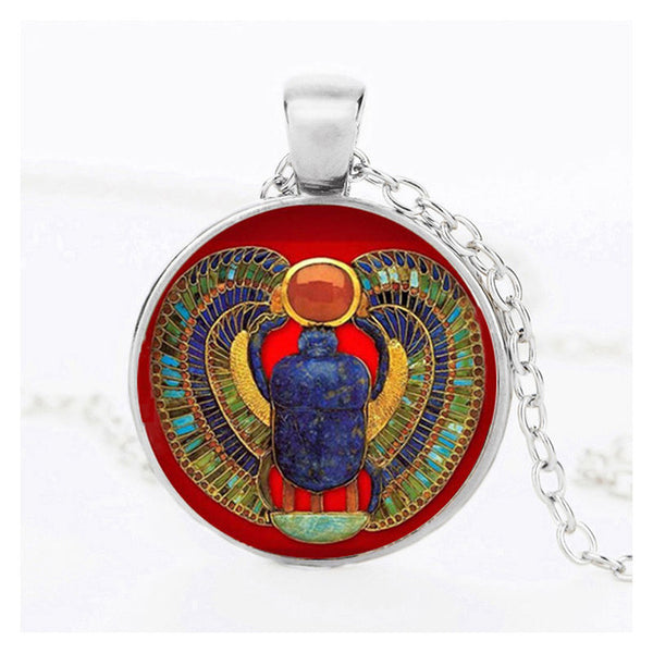 horus egyptian necklace pewter ra of jewelry gothic necklaces ancient eye pendant and
