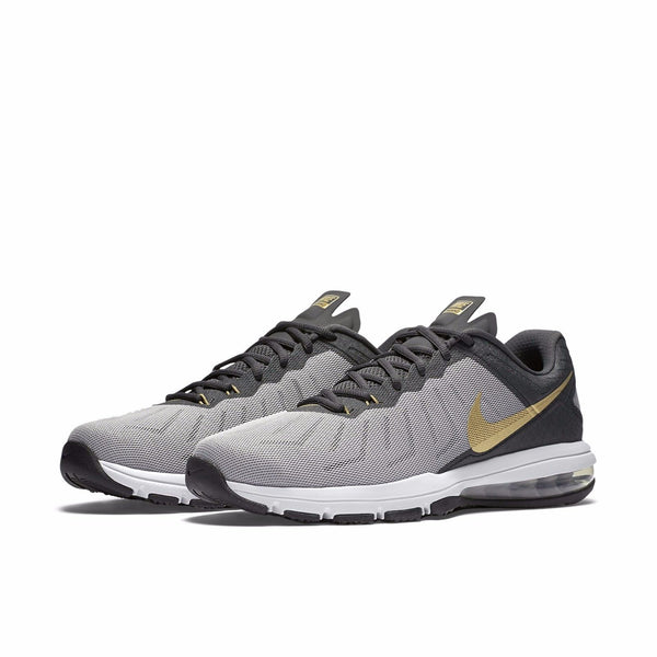 Men's Nike Air Max Full Ride TR Training Shoes NEW (Grey/Gold/Black