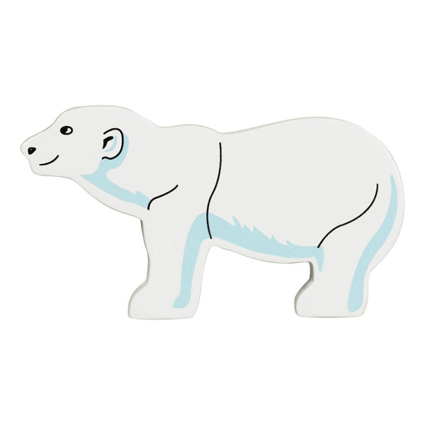 Wooden Polar Bear - Lanka Kade