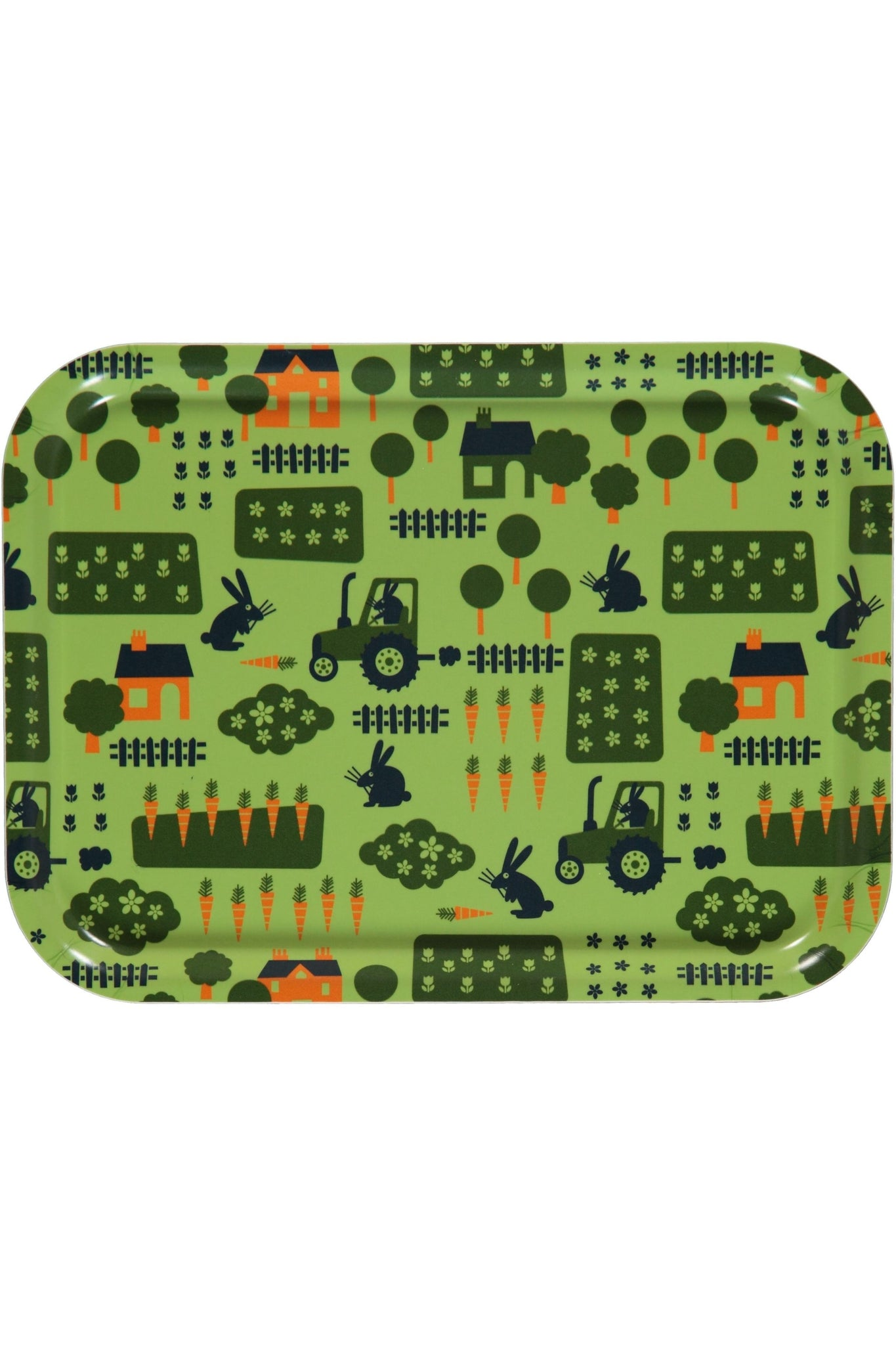 Tray - Farm Print - One Size - Maxomorra Accessories - Snugglefox