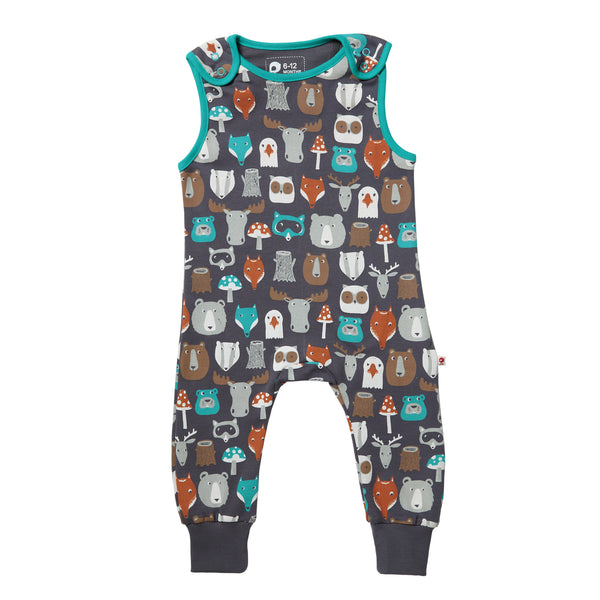 Forest Friends Dungaree - Piccalilly