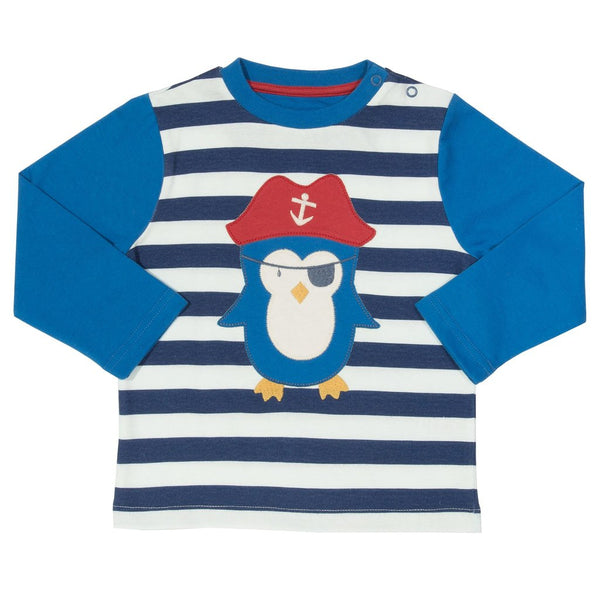 Pirate Penguin - Long Sleeve - Top - Kite