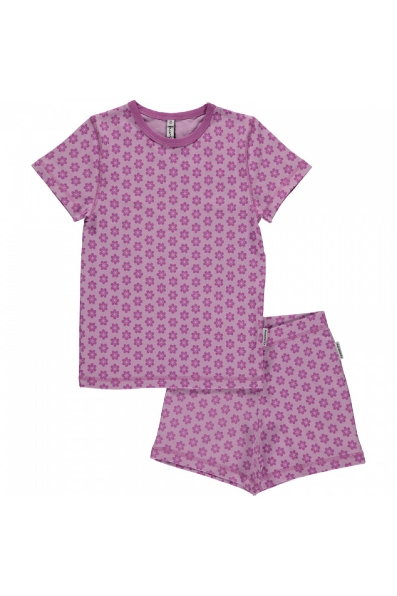 Annemone Pyjama Set - Short Sleeves - Maxomorra Fashion - Snugglefox