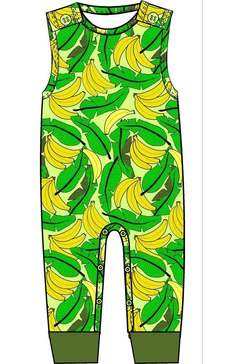 Dungaree Banana Pale - DUNS Fashion - Snugglefox