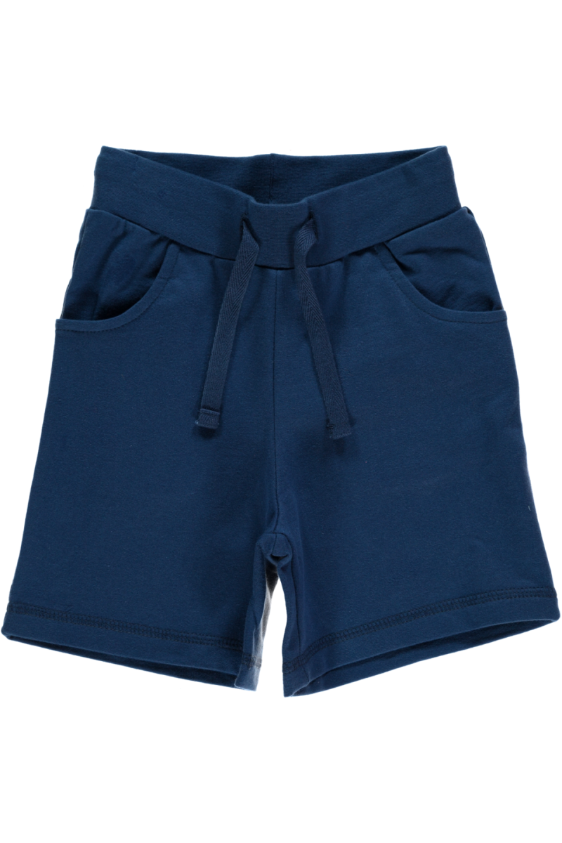 Dark Blue Shorts Regular - Maxomorra Fashion - Snugglefox