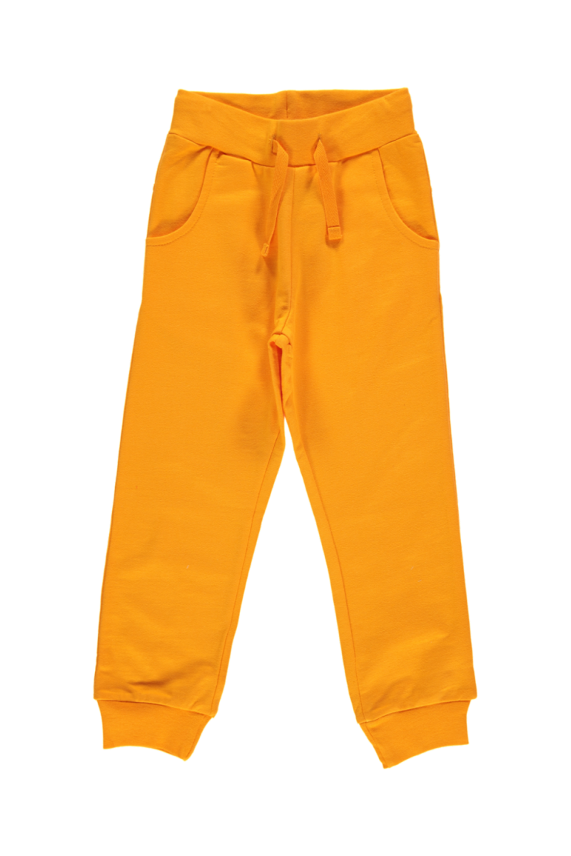 Orange Sweatpants Regular - Maxomorra Fashion - Snugglefox
