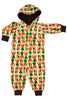Carrot Velour Onesie - Yellow - DUNS Fashion - Snugglefox