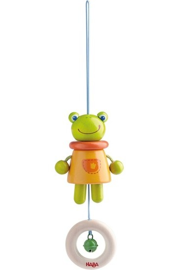 Dangling Magic Frog Figure - HABA Toys - Snugglefox