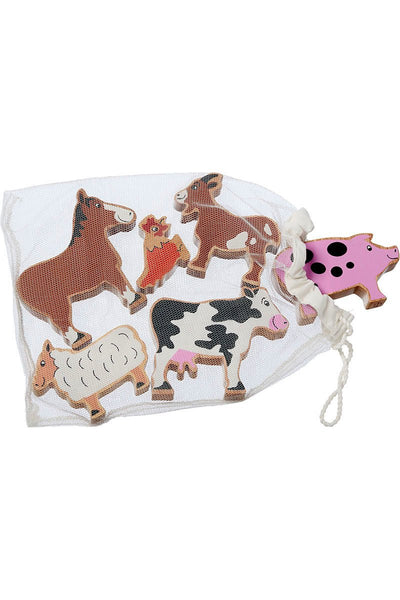Farm Animals bag of six - Lanka Kade Toys - Snugglefox