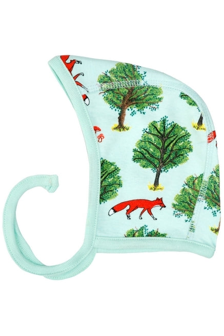 Baby Cap/Bonnet Fox Tree - Jade - DUNS