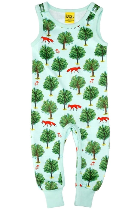Dungaree Fox Tree - Jade - DUNS Fashion - Snugglefox