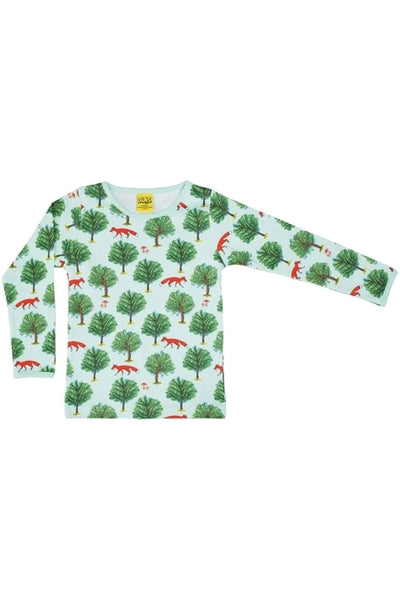 Mama - DUNS - Fox Tree - Jade - Long Sleeve - Top - DUNS Adult Fashion - Snugglefox