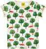 Fox Tree- Light Tan - Short Sleeve - Top - DUNS