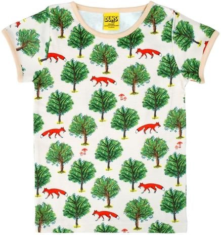 Mama - DUNS - Fox Tree - Light Tan - Short Sleeve - Top - DUNS