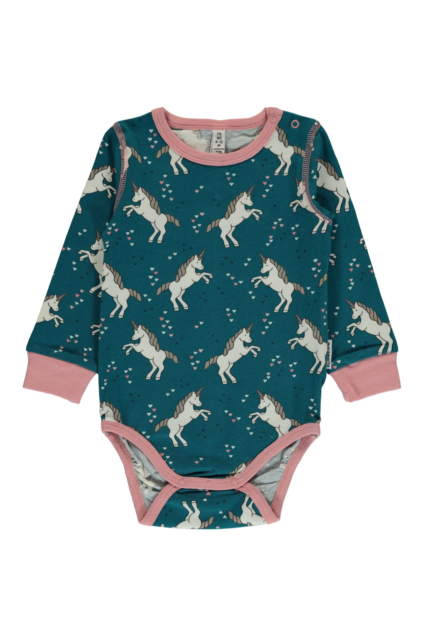 Unicorn - Dreams - Long - Sleeve - Body - Maxomorra Fashion - Snugglefox