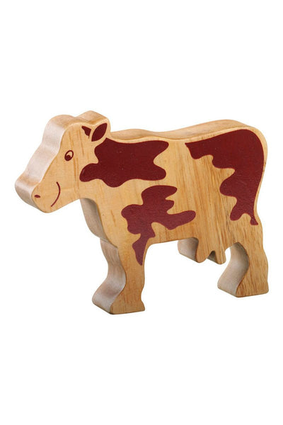 Natural Cow - Lanka Kade Toys - Snugglefox