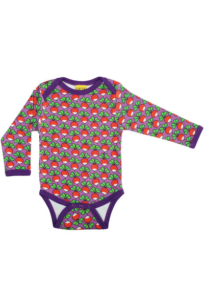 Radish Purple Long Sleeve Body - DUNS Fashion - Snugglefox