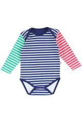 Primary Stripe Long Sleeve Body - Piccalilly Fashion - Snugglefox
