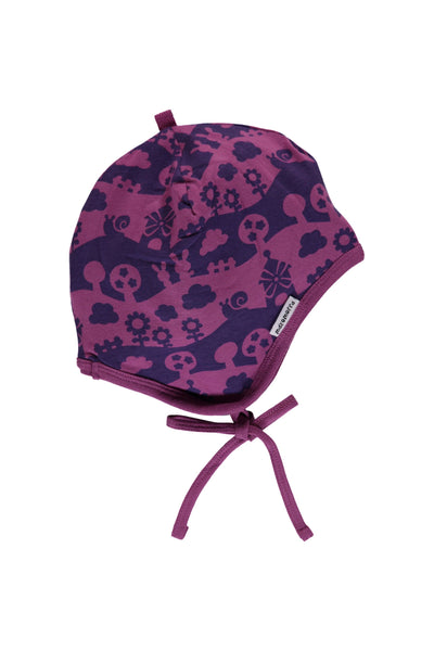Purple - Landscape - Hat - Helmet - Maxomorra Fashion - Snugglefox