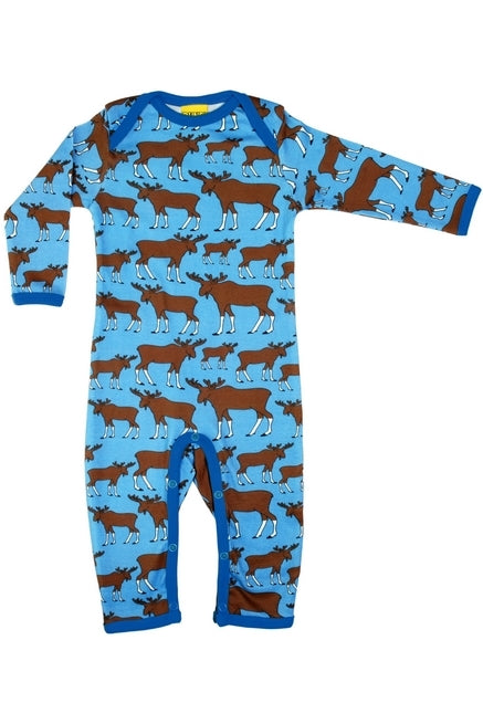 Moose - Blue - Long Sleeve - Suit - DUNS Fashion - Snugglefox