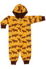 Moose Onesie - Mustard - Yellow - DUNS Fashion - Snugglefox