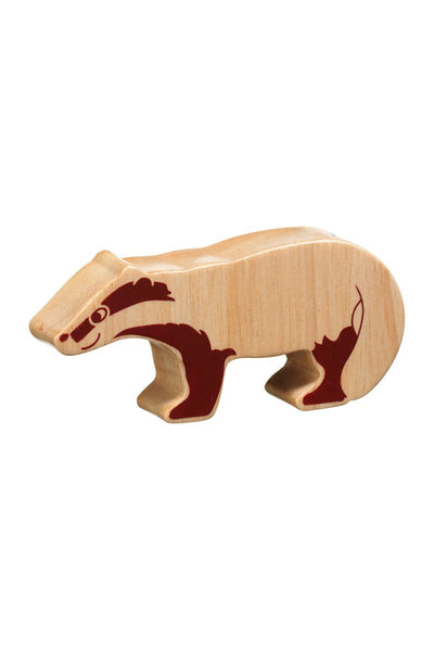 Natural Badger - Lanka Kade Toys - Snugglefox