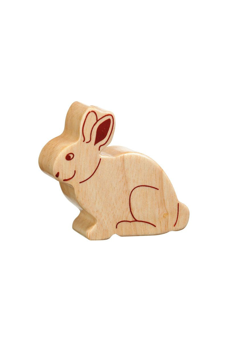 Natural Rabbit - Lanka Kade Toys - Snugglefox