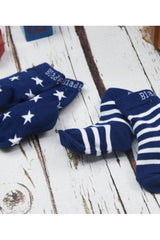 Navy & White Socks - Blade & Rose Fashion - Snugglefox