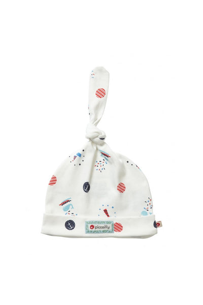 Sailor Spot Baby Knot Hat - Piccalilly Fashion - Snugglefox