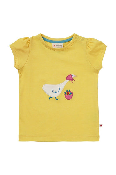 T-Shirt - Mrs - Goose - Applique - Piccalilly Fashion - Snugglefox