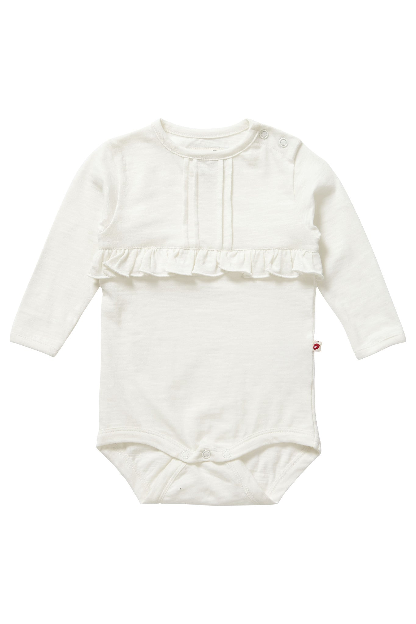 Bodysuit Cream Slub Baby - Piccalilly Fashion - Snugglefox
